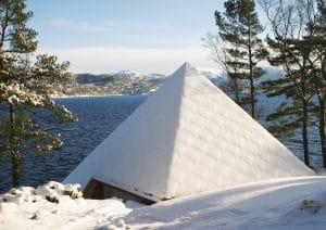 Pyramid wintertime