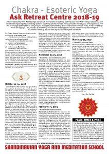 Chakra Retreat 2018-19